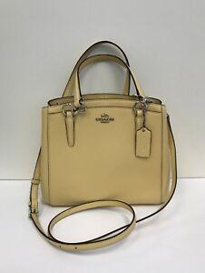 e1bd8efd0ea77 Image is loading NWT-Coach-Crossgrain-Leather-Minetta-Crossbody-Handbag- F57847-