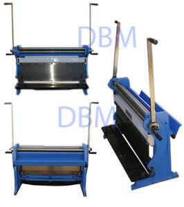 30-039-039-Shear-Press-Brake-Bender-Slip-Roll-Roller-Sheet-Metal-Finger-Box-20-Gauge