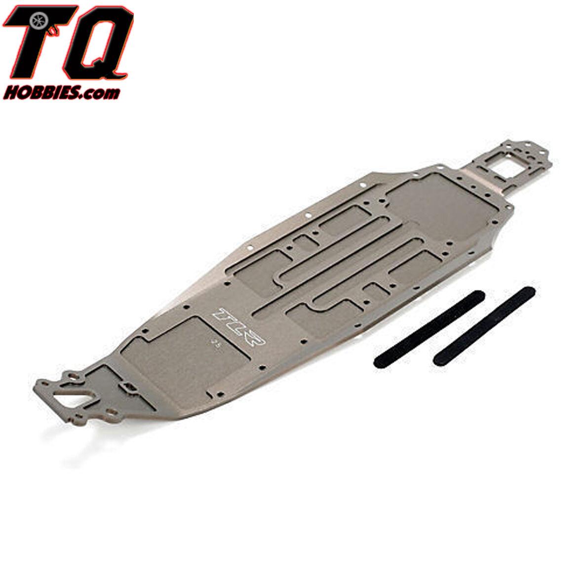 Team Losi Racing chasis -2.5 mm, ligero 22 2.0 TLR331014 Envío Rápido W Track