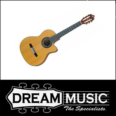 Responsible Crafter Cr-ce 15/n Sb Classical Guitar With L.r.baggs Preamp And Pickup Rrp$1149 Acoustic Electric Guitars