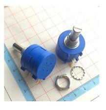 2PCS 3590S-2-103L 10K Ohm Rotary Wirewound Precision Potentiometer Pot 10 NEW