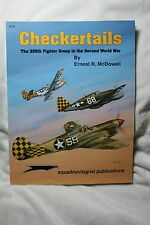 Checkertails 325th FG in WWII Squadron Signal Book # 6175 Very Good Condition