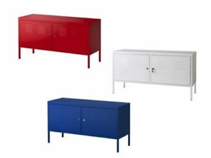 Details About Ikea Ps Metal Multi Use Cabinet Home Office Storage Tv Bench 119x63 Cm 3 Colours