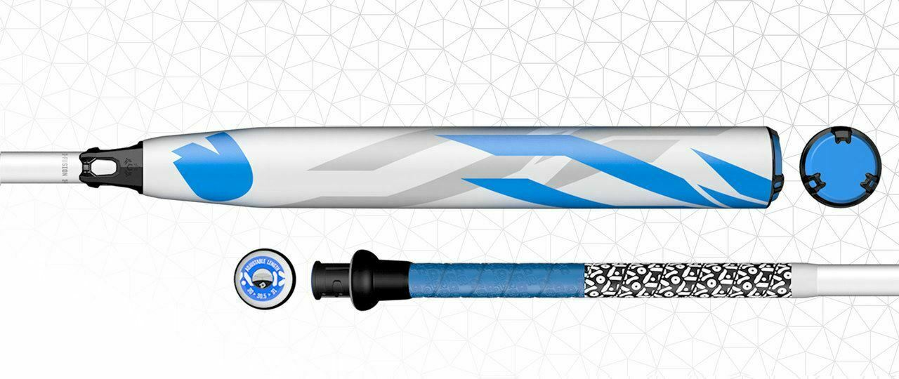 2019 Demarini D-LAB CF-XD DXCFE (-10) WITH AOD TECHNOLOGY Fastpitch Bat - WTDXCF