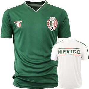 Image is loading Mexico-Soccer-Jersey-2018-World-Cup-uniform-Football- 86cadf712