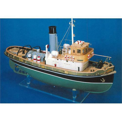 Mantua Models Anteo Tug Boat Kit 1 30 Scale Suitable For R C FREE NEXT DAY POST