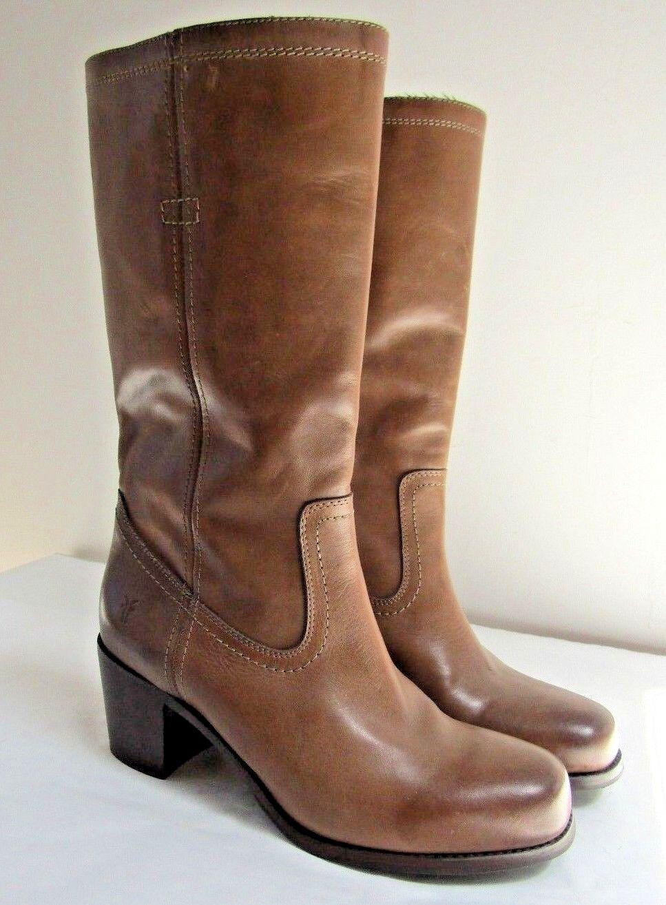 Frye  Tan  Mid- calf  Women's Boots  size 9.5 -  New