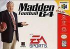 Madden Football 64 (Nintendo 64, 1997)