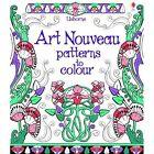 Art Nouveau Patterns to Colour by Emily Bone (Paperback, 2014)