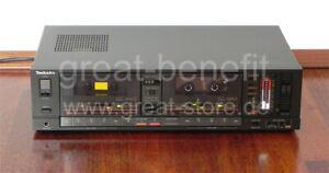 TECHNICS-RS-T80R-High-End-Doppel-Kassettendeck-mit-Pegelanzeige