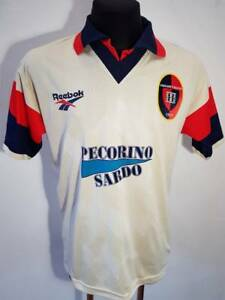 Details about CAGLIARI 1997 1998 AWAY CALCIO ITALY FOOTBALL SOCCER JERSEY SHIRT M VTG MAGLIA
