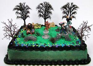 Image Is Loading HARRY POTTER Hogwarts Themed Birthday Cake Topper Set