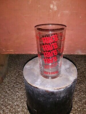 +Vintage Revco Pharmacy Drug Store Old Advertising Mug Clear Glass Cup