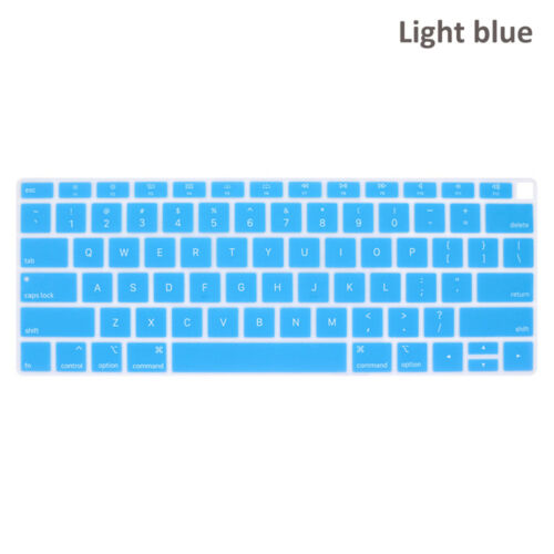 Language Letter Keyboard Cover For MacBook Air 13 Inch 2018 Release A1932