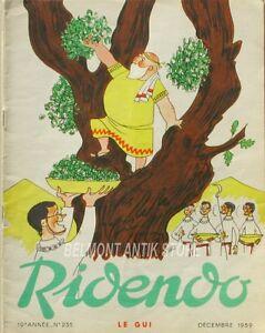 Complexé Ridendo N°235 - 1959 - Le Gui - Illustration R.lep - Publicité Médicale -