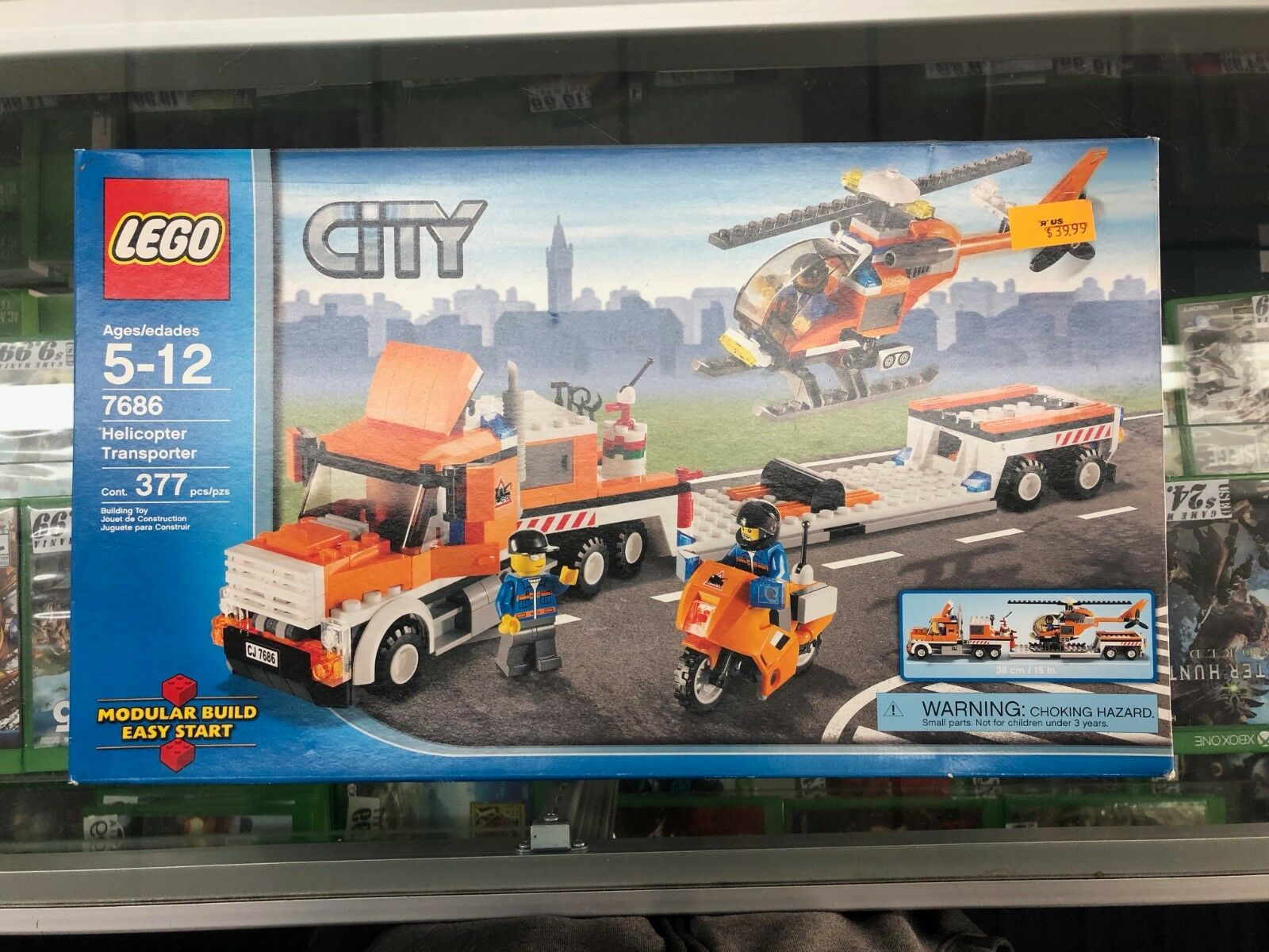 profitto zero Lego Helicopter Helicopter Helicopter Transport 7686 Bre nuovo  distribuzione globale