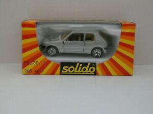 PEUGEOT-205-GTI-neuf-en-boite-Solido-1349-Mint-In-Box-1-43-MADE-IN-FRANCE