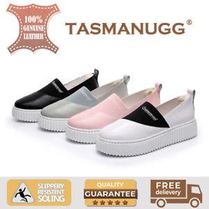 de566427ecf Tasman UGG -Panda platform leather sneakers, light-weight, women ...