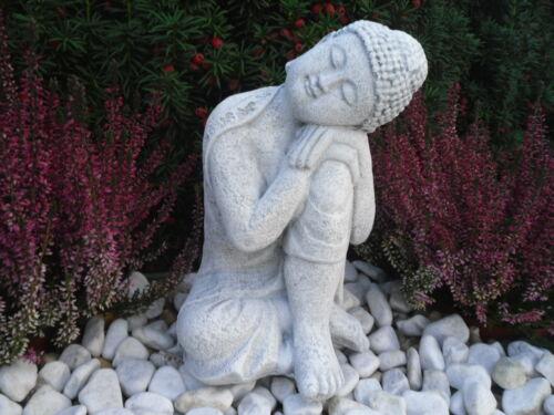Gartenfigur Deko Geschenk Figur Skulptur 168//5 Feng Shui Steinfigur Buddha