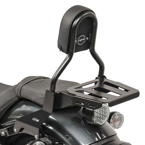 Sissy Bar CL3 für Yamaha XV 950 R 14-20 mit Gepäckträger schwarz