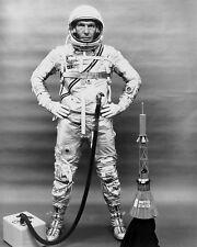 WERNHER VON BRAUN BRIEFS THE MERCURY 7 ASTRONAUTS 8X10 NASA PHOTO EP-316