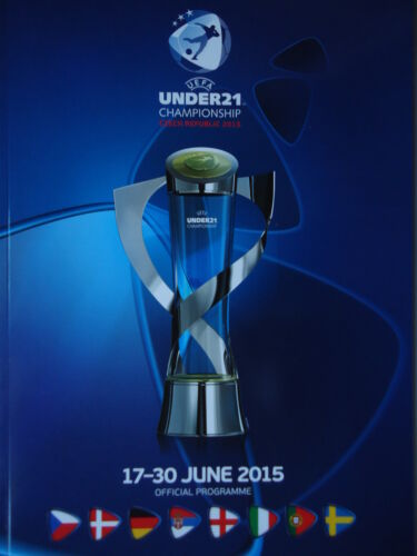 Programm UEFA Under 21 Czech Republic England Deutschland Schweden Portugal ...