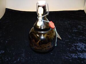 Grosse-Bierflasche-034-500-Jahre-Post-034-Henkel-Flasche-Buegelverschluss-27-cm-P-197