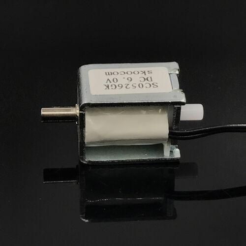 Válvula de Solenoide DC6V Mini Eléctrica Dc N//S normalmente abierto para monitor de Válvula de Aire Gas