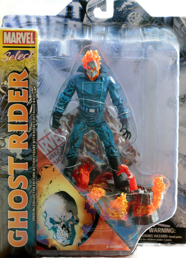 Marvel Select Ghost Rider Action Figure 7