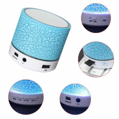 Mini Wireless Bluetooth Speaker Portable for Iphone Ipad Samsung Mp3 Mic Bass