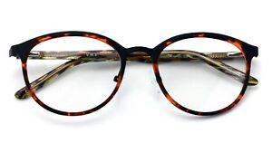 3240dfe80e Round Circle Oval Clear Lens Glasses Eyeglasses Non-Prescription Rx ...