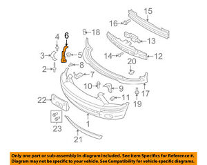 FORD OEM 10-14 Mustang Front Bumper Grille-Support Bracket Right AR3Z17C861A
