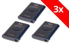3 x FAAC Handsender XT2 433 SL XT2433SL - ersetzt TML2 433 SLR 433 Mhz TML433SLR