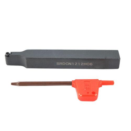 lathe External Turning Tool Holder For RPMT0602MO insert 12mm*100mm SRDCN1212H06