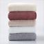 Pure-Color-Luxury-100-Egyptian-Cotton-Towel-Bale-Set-Hand-Face-Bath-Absorbent miniature 3