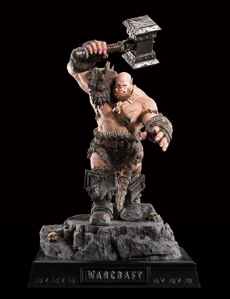 Nuevo WETA taller Warcraft Orgrim Martillo Maldito 1 10 Escala Estatua