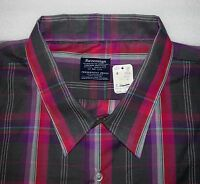 Sovereign tailored For The Larger Man Long-sleeve, Sz 6x/22+, Vintage, Nwt's