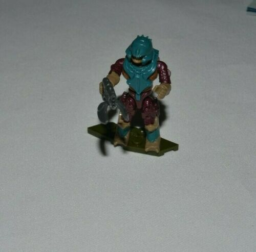 MEGA CONSTRUX HALO NEW DAWN SERIES COVENANT BRUTE MINOR WITH SPIKER