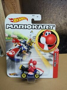Hot Wheels Mario Kart 2020 Red Yoshi