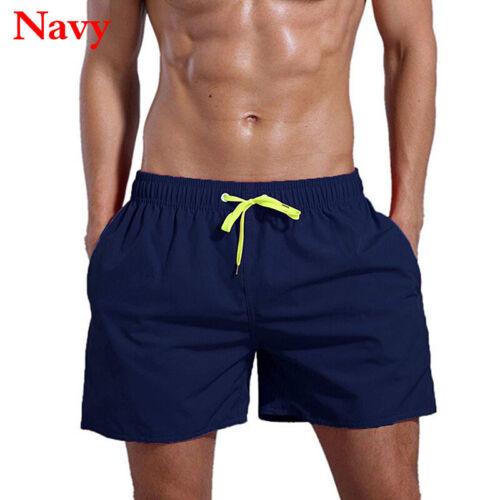 Men Beach Sports Surf Board Trunk Swim Shorts Jogging Swimwear Short Pants S-2XL