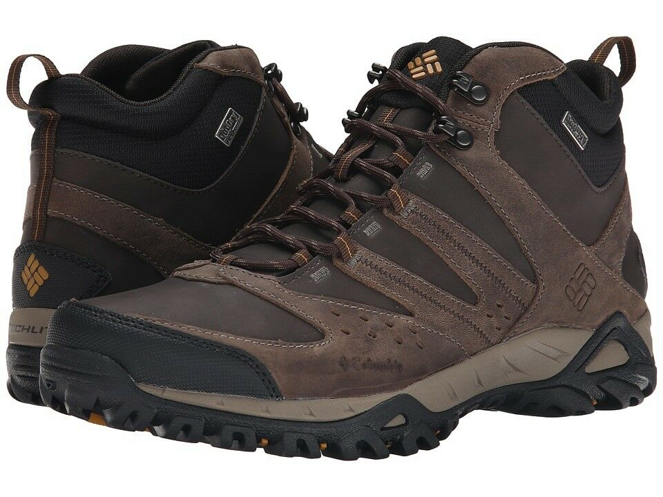 Nuevo Para Hombres  Columbia  Peakfreak Xcrsn Mid  Cuero Outdry Senderismo Trail Zapatos  apresurado a ver