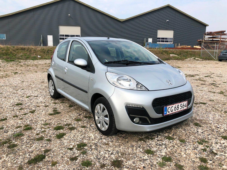 Peugeot 107 1,0 Active 5d - 32.500 kr.