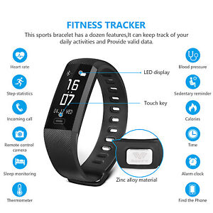 Image Is Loading Sports Activity Sleep Tracker Heart Rate Fitness Pedometer