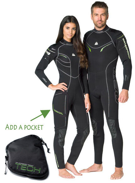 Waterproof W30 2.5MM Womens  Full Wetsuit  All Sizes  cheaper prices