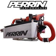 Perrin FMIC Front Mount Intercooler w/ Red Piping for 2002-2007 Subaru WRX / STI