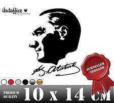 Autoaufkleber Sticker Aufkleber Mustafa Kemal Atatürk