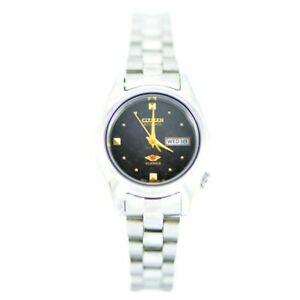 Citizen-Classic-Automatic-Ladies-039-Stainless-Strap-Watch-PD2470-69E