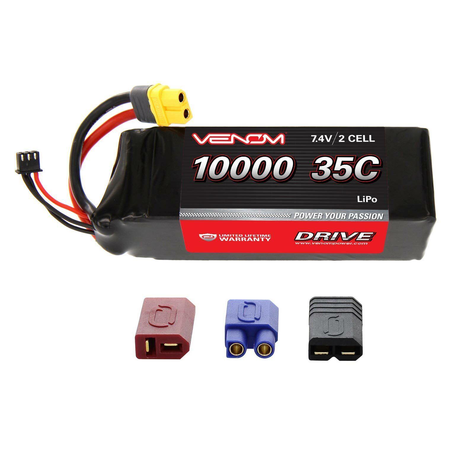 Traxxas diverdeimentony auto 35C 2S 10000mAh 7.4V RC LiPo Battery  by Venom  sport dello shopping online
