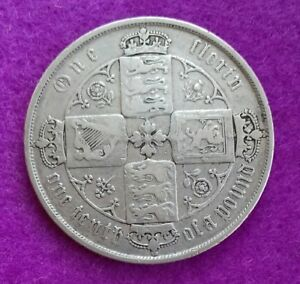 1873-VICTORIA-GOTHIC-FLORIN