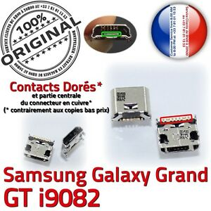 ORIGINAL-Samsung-Galaxy-Grand-GT-i9082-Connecteur-charge-soudure-Micro-USB-Prise